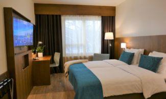 Hotelli Raumanlinnan huone