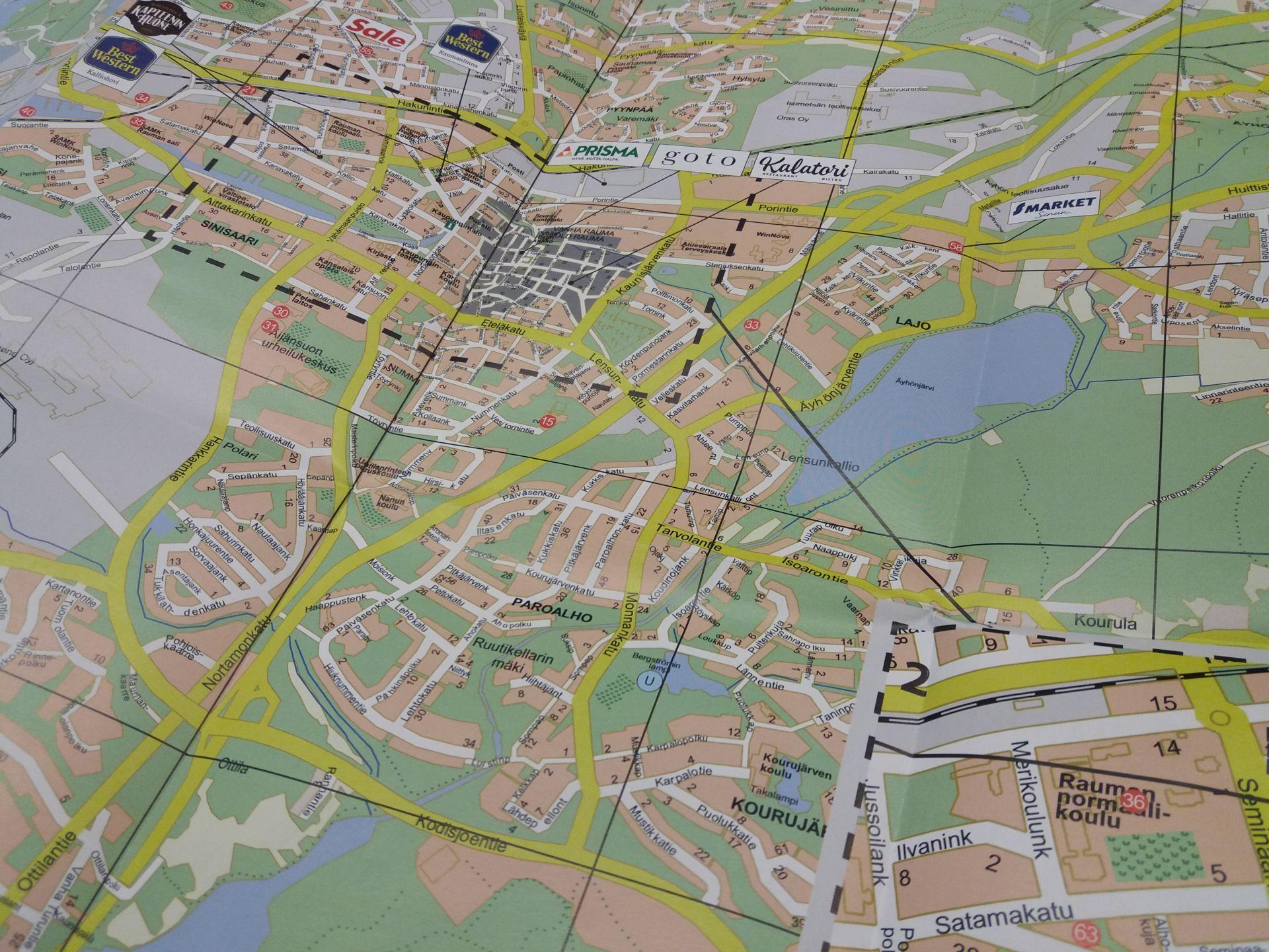 Kartat Visit Rauma