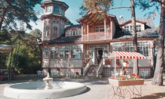 Ravintola Villa Tallbo pitsihuvila