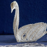 Lace swan.