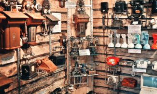 Telephone Museum, which is full of telephones.