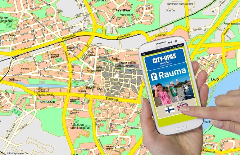 Rauman Kartta Mobiilissa Visit Rauma