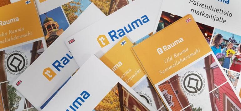 Rauma brochures on the table.