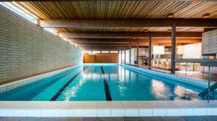 Swimming pool of the Johtola sauna.