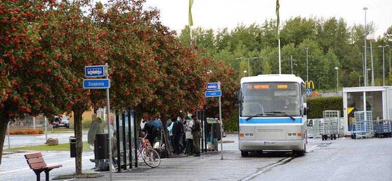 Rauman tilapäinen linja-autoasema